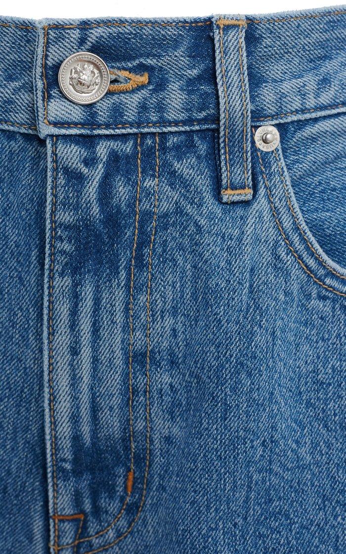 Beatnik Rigid High-Rise Denim Shorts