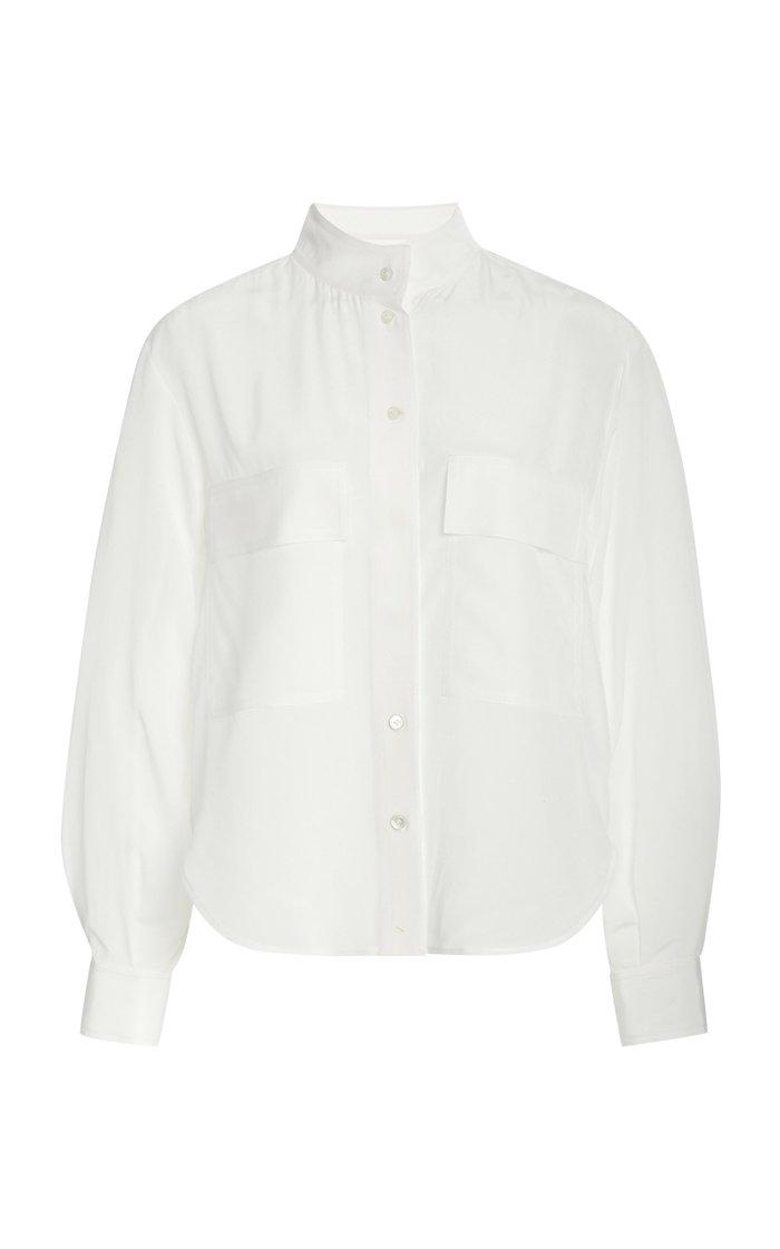 Clean Safari Silk Shirt