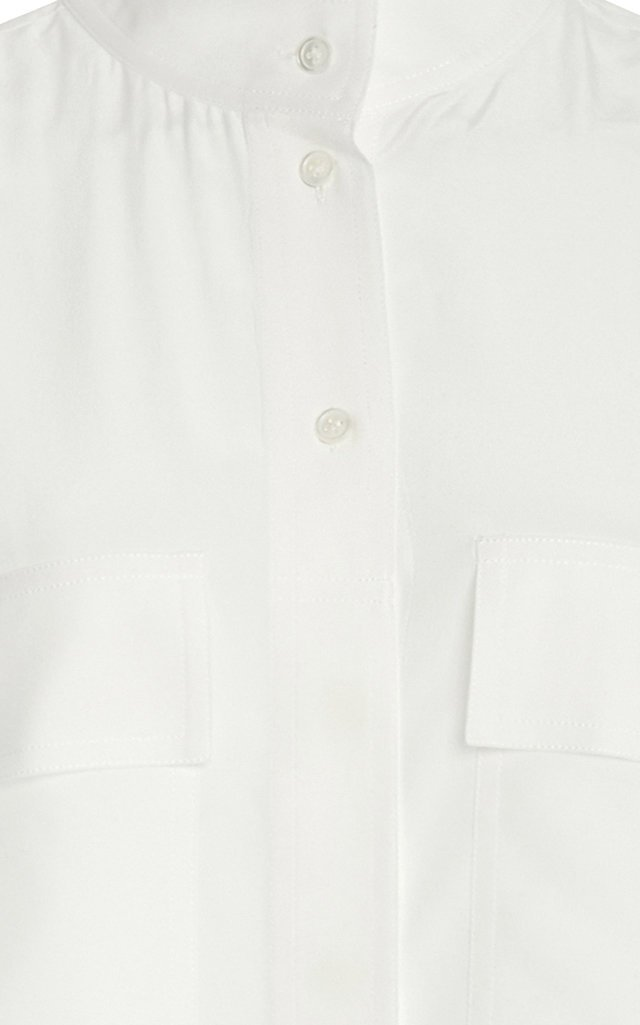 Clean Safari Silk Shirt