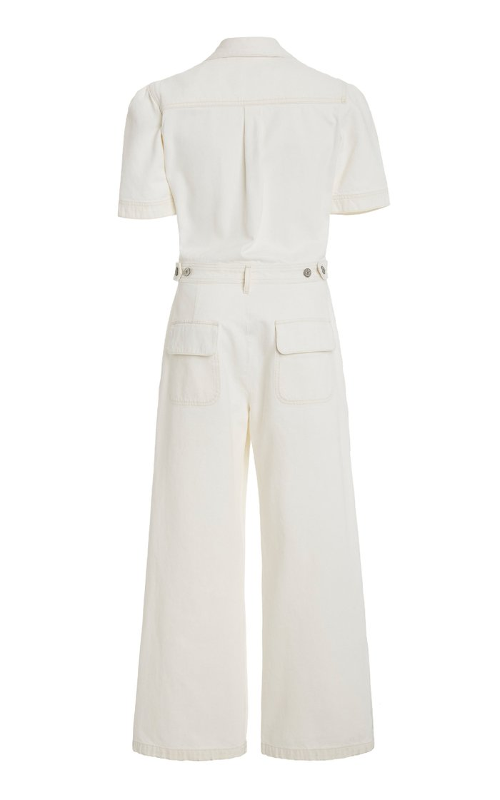 Miki Cropped Wide-Leg Jumpsuit