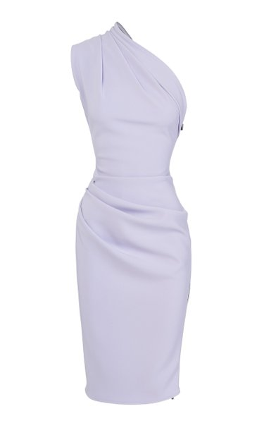 Effusive Crepe De Chine Dress