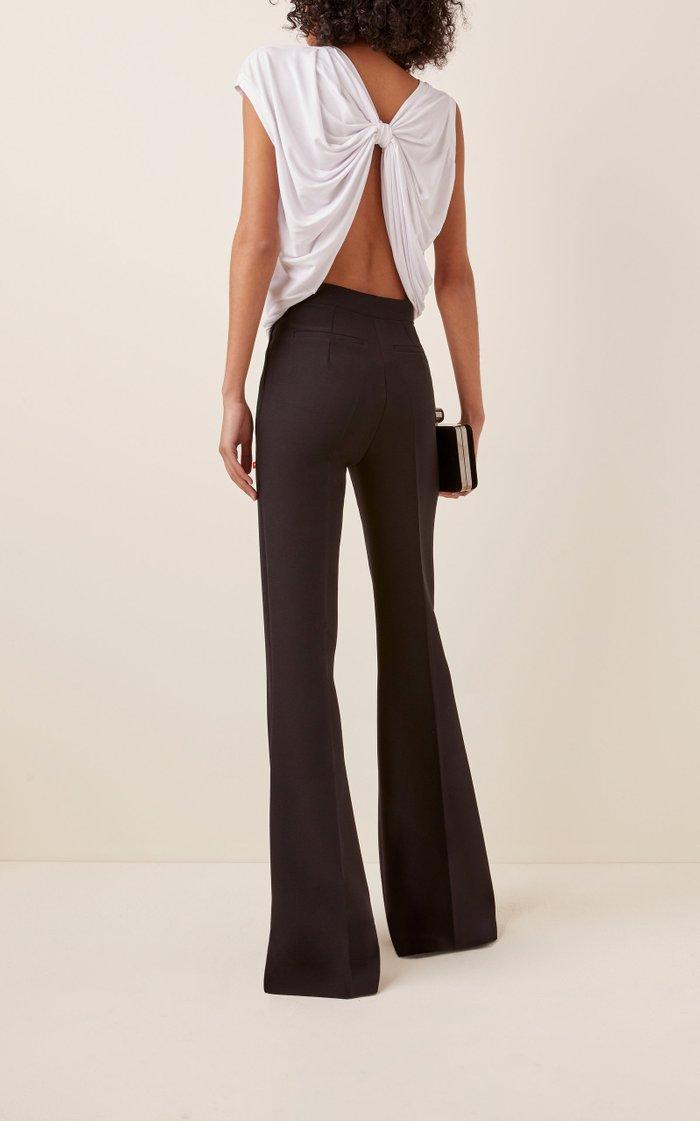 Seize Asymmetric Cotton-Jersey Top