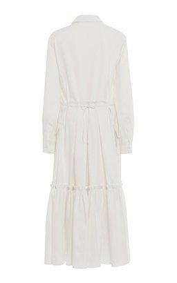 Cotton-Blend Jacket Dress