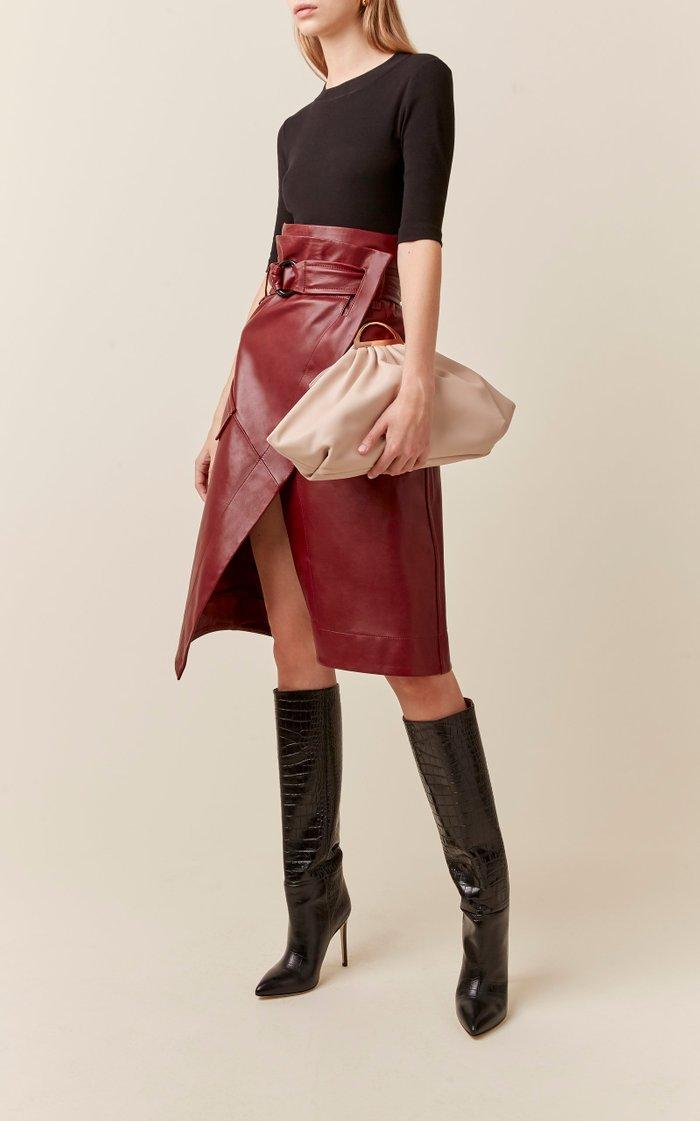 Gabi Leather Clutch