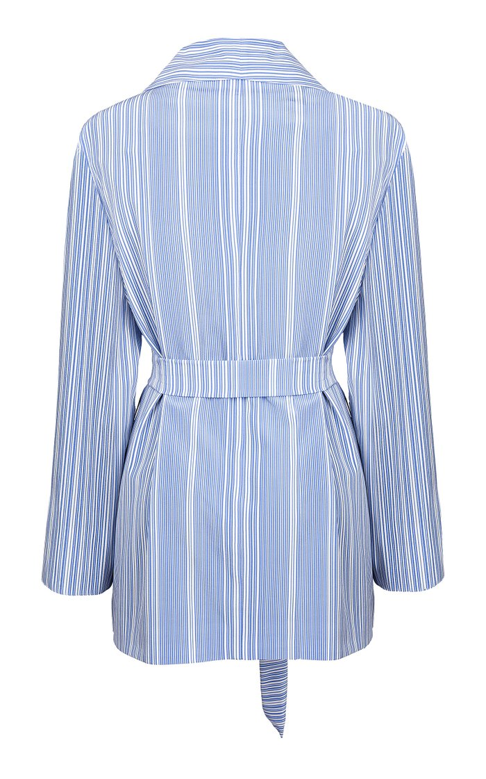 Calypso Whistler Striped Robe Jacket