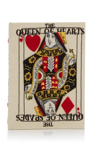 Queen Of Hearts Book Clutch