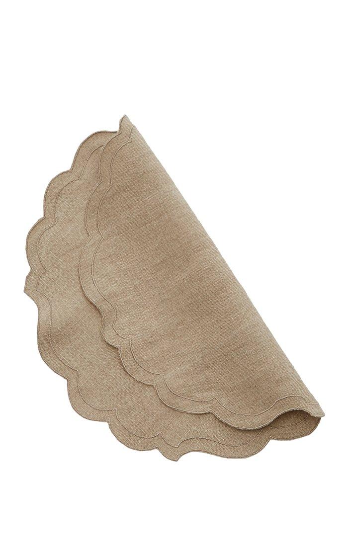 Set-Of-Four Linen Napkins