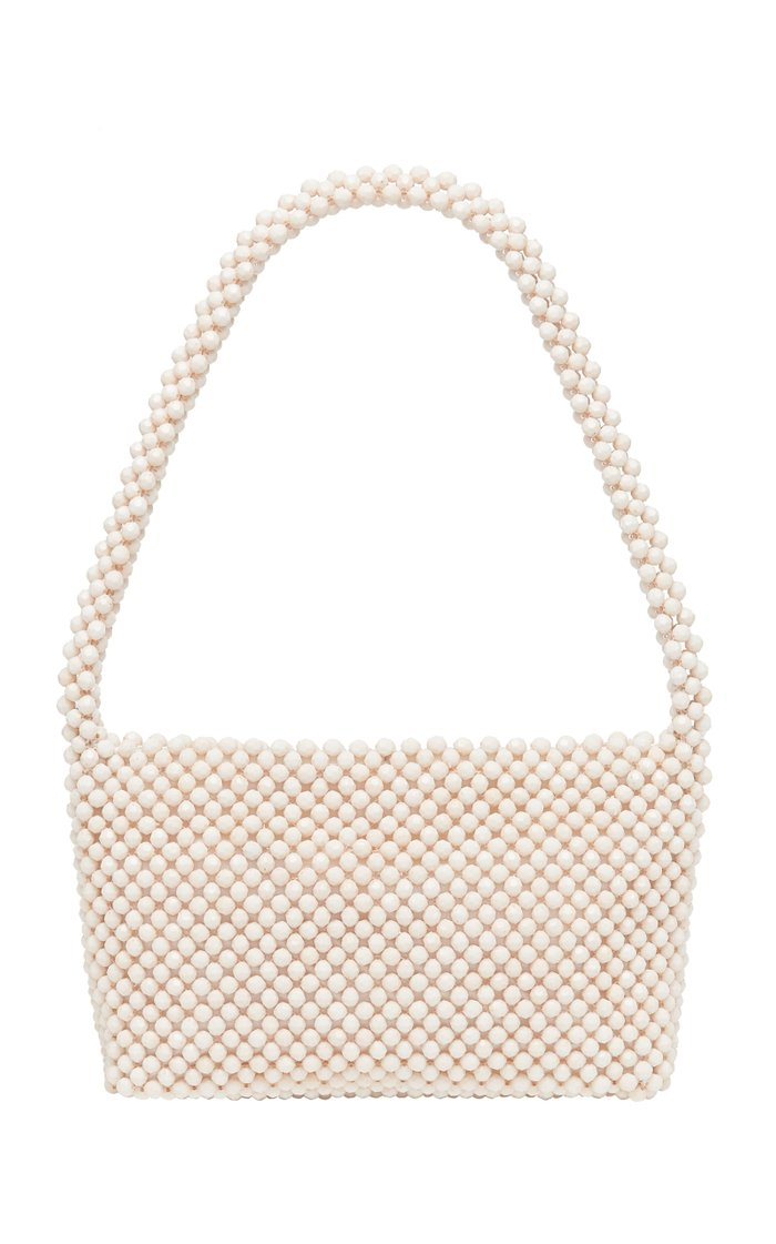 Marleigh Beaded Baguette Shoulder Bag