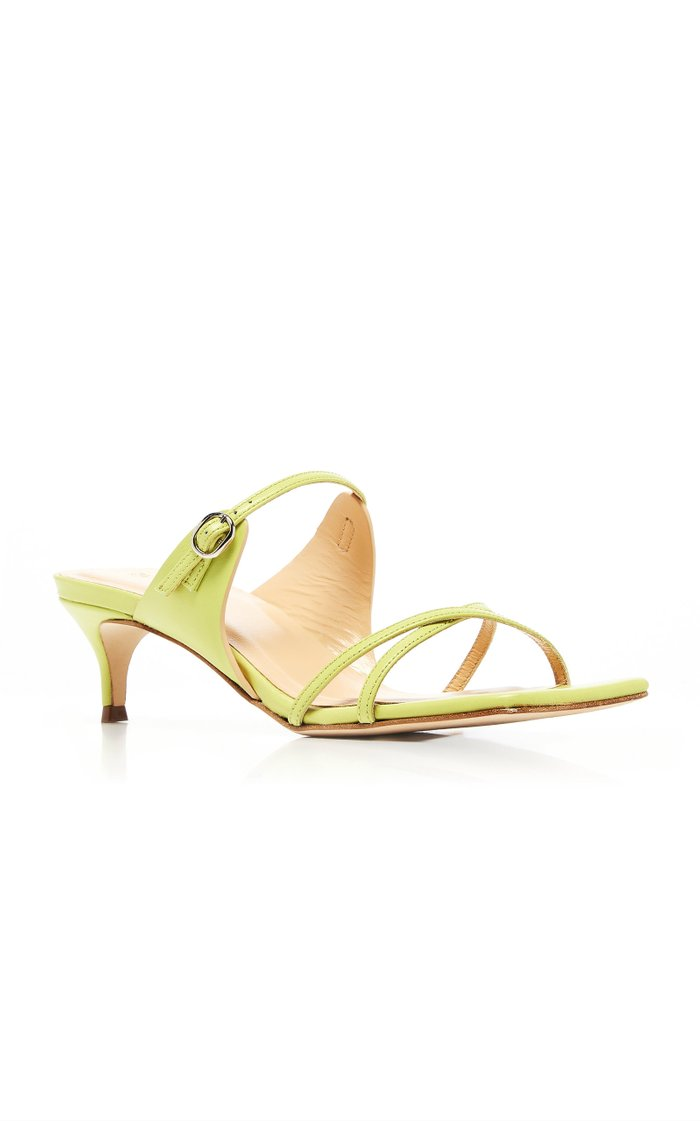 Candy Leather Sandals