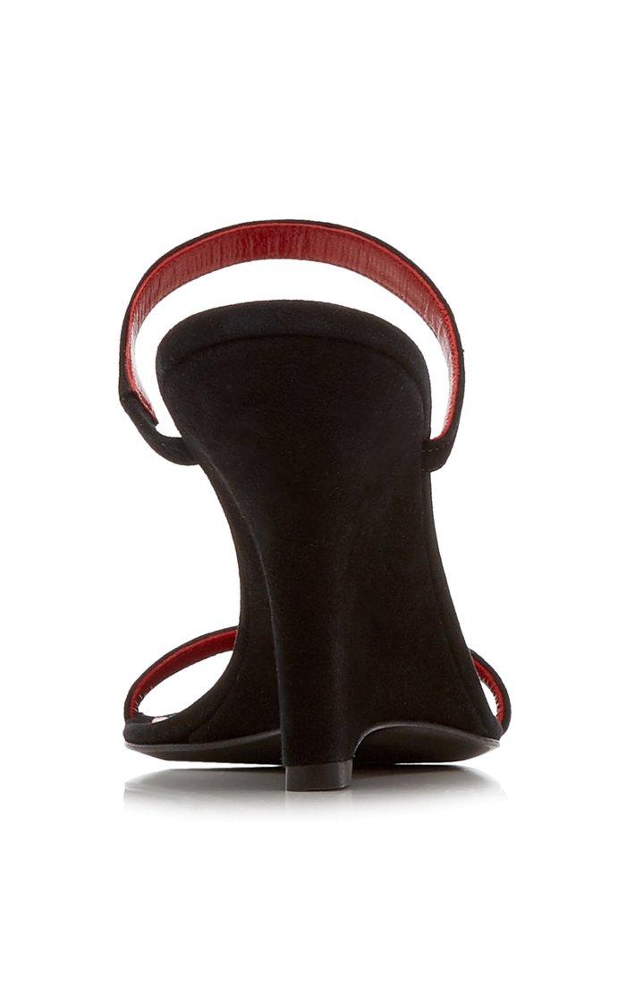 Steffi Leather Wedge Sandals