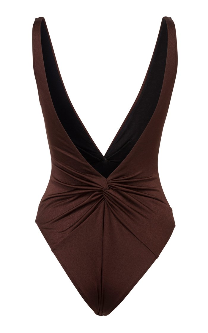 Tannie Gathered One-Piece Swimsuit
