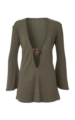 Juanna Ribbed Jersey Mini Dress