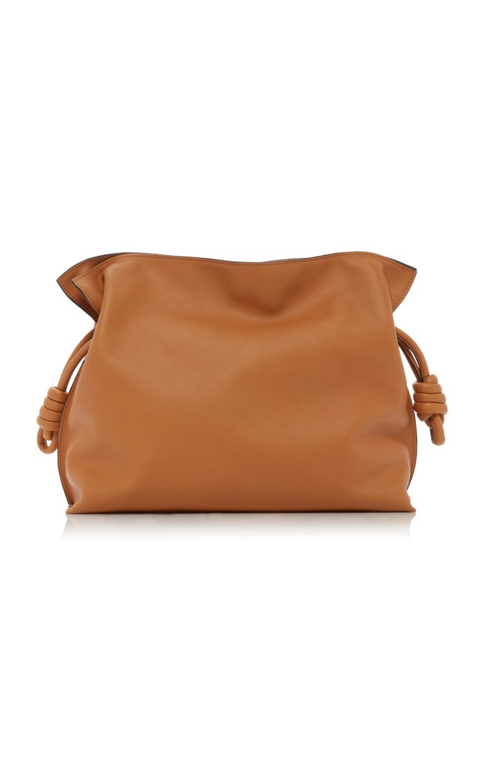 Flamenco Nappa Leather Clutch