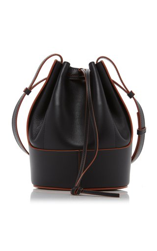 Small Balloon Leather Shoulder Bag