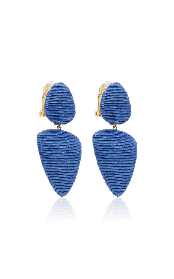 Tahiti Clip Earrings