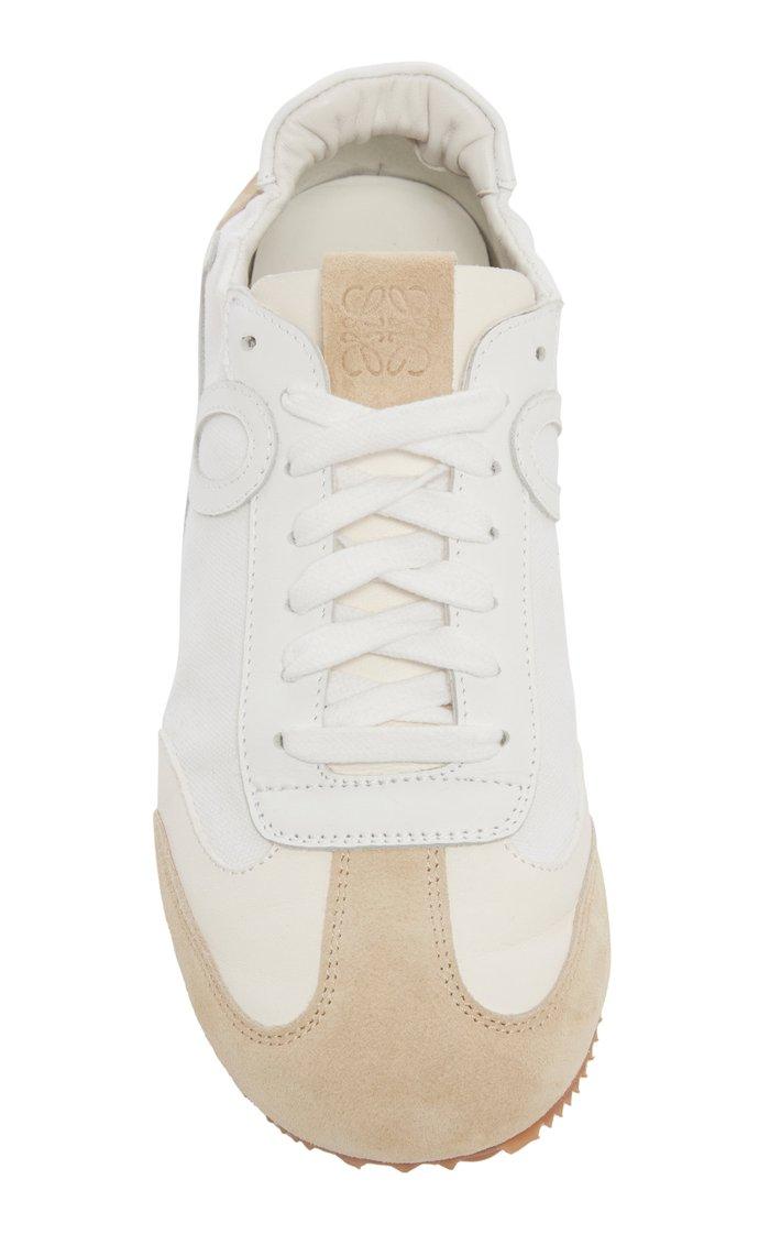 Ballet Runner Leather Sneakers