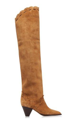 Luiz Suede Over-The-Knee Boots