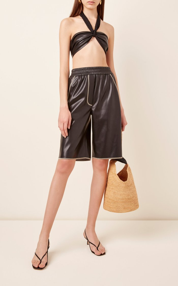 Yolie Faux Leather Shorts