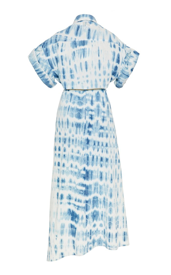 Hanna Tie-Dye Cotton Midi Dress