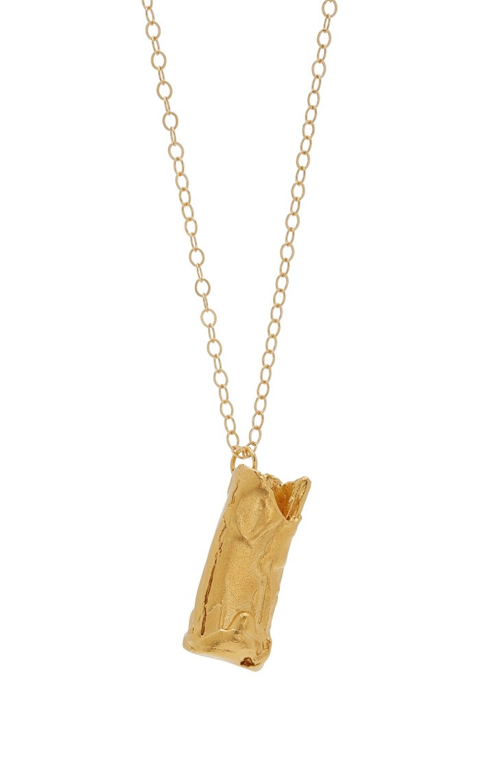 The Wishing Well 24K Gold-Plated Necklace
