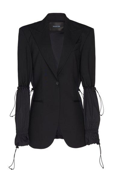 Drawstring Tailored Jacket