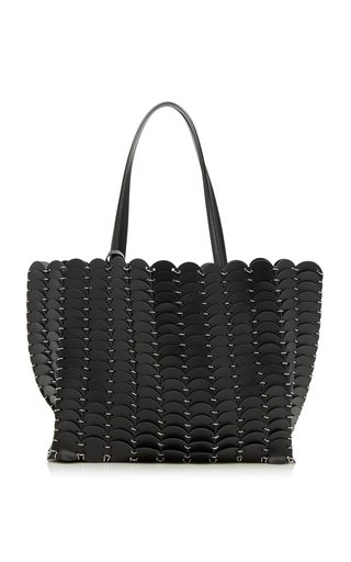 Cabas Disc Leather Tote