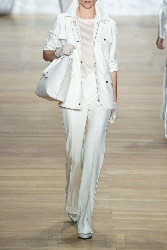 Buttoned Cotton-Blend Jacket