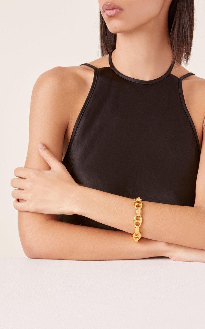 Barbara Gold Vermeil Chain Bracelet
