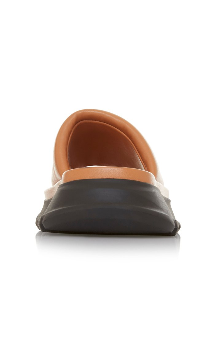 Chunky Leather Slides