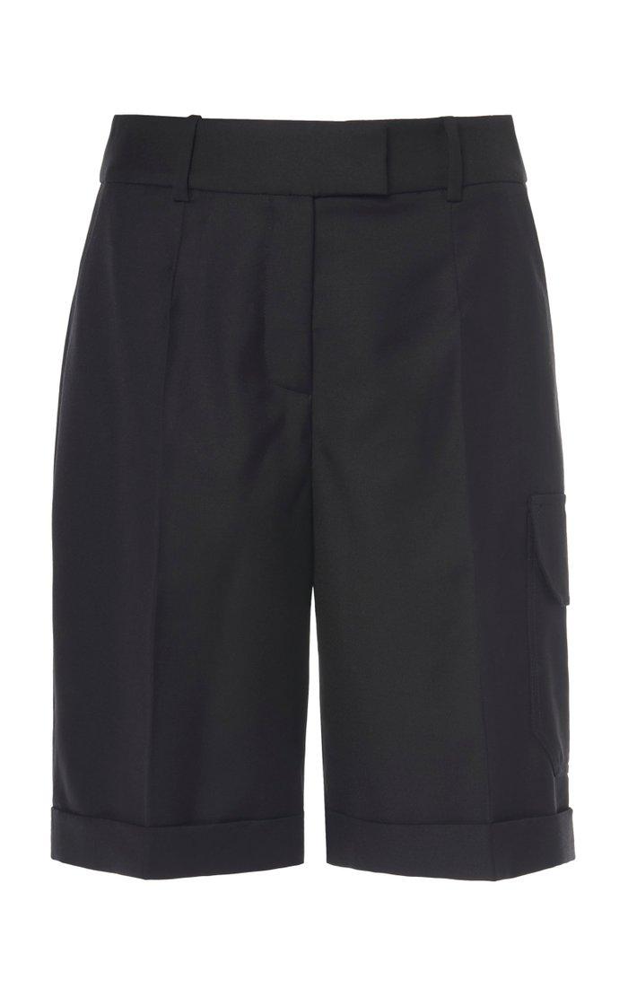 Wool Cargo Shorts
