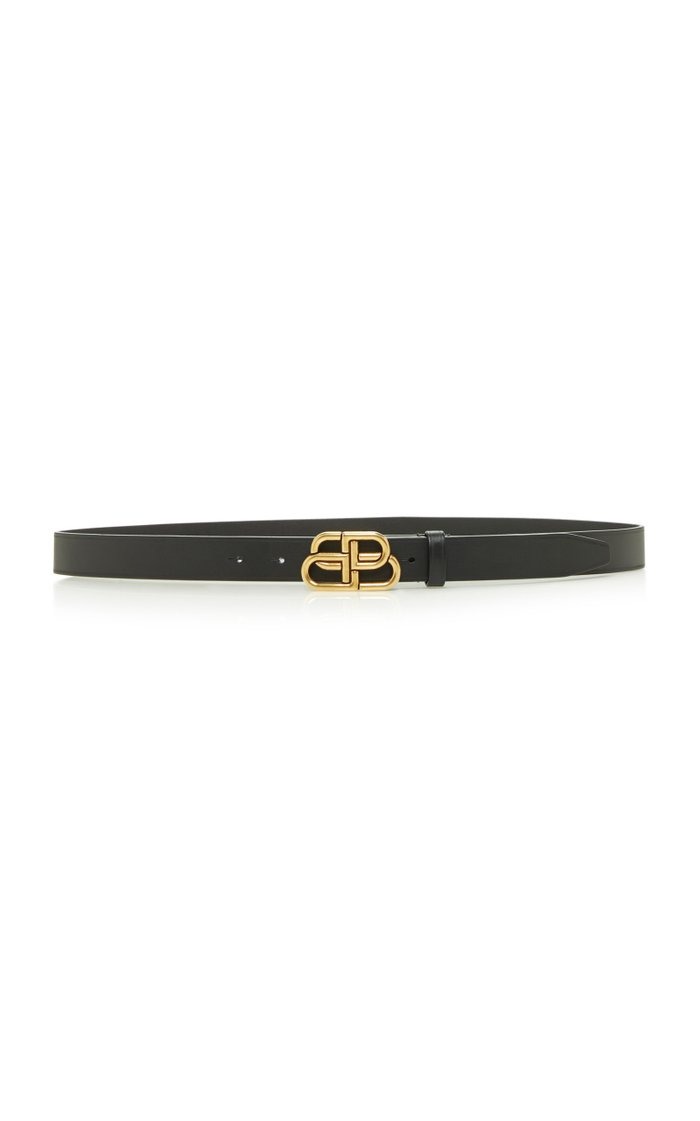 BB Thin Leather Belt