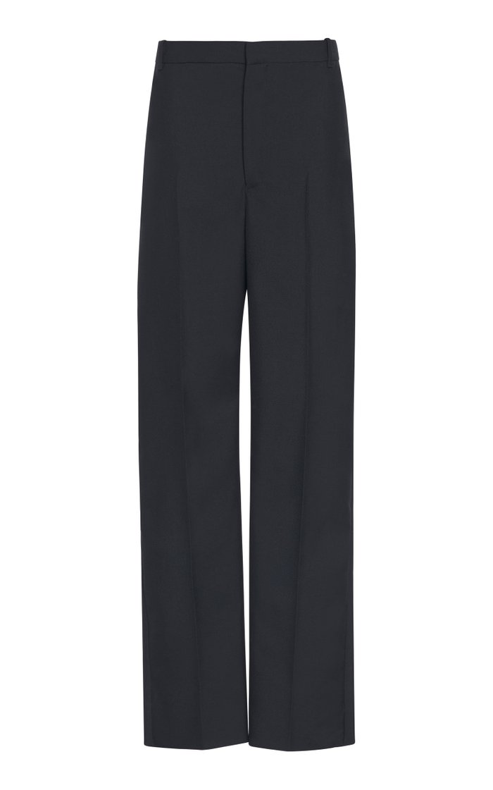 Twill Straight-Leg Uniform Trousers