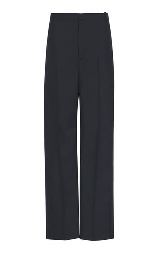 Twill Straight-Leg Uniform Trousers