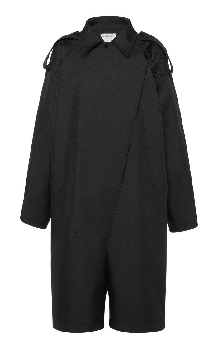 Belted Gabardine Jumpsuit
