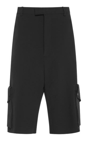 Tech-Gabardine Cargo Shorts