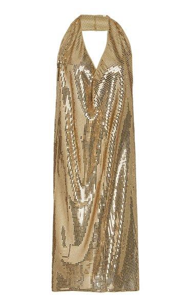 Sequined Halterneck Dress