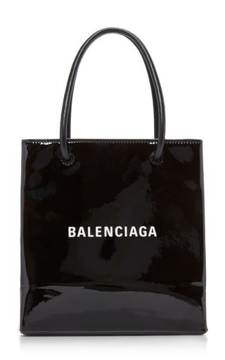 Shopping XXS Patent Leather Tote Bag