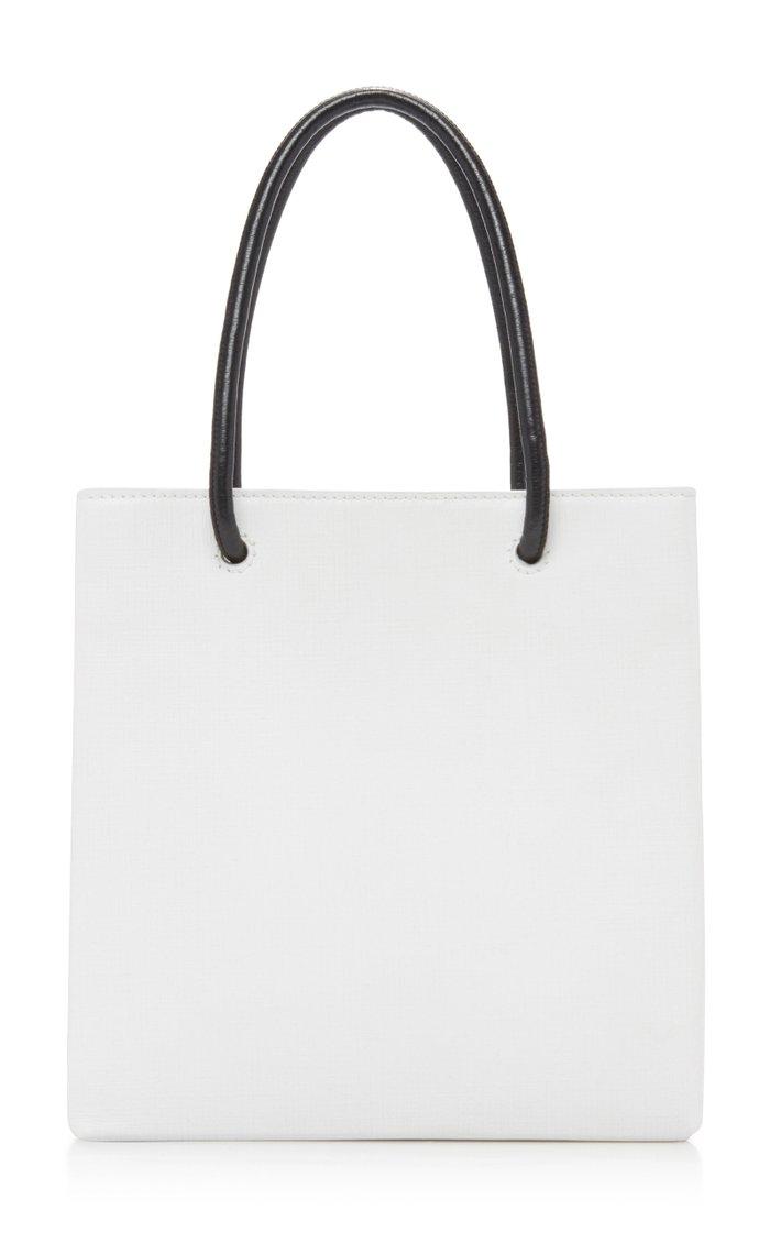 Shopping XXS Leather Tote Bag
