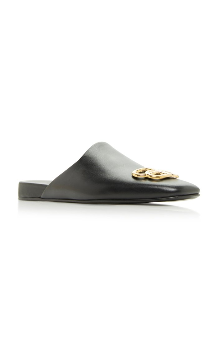 Cosy BB Leather Mules