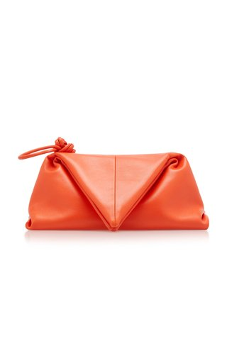 The Trine Leather Clutch