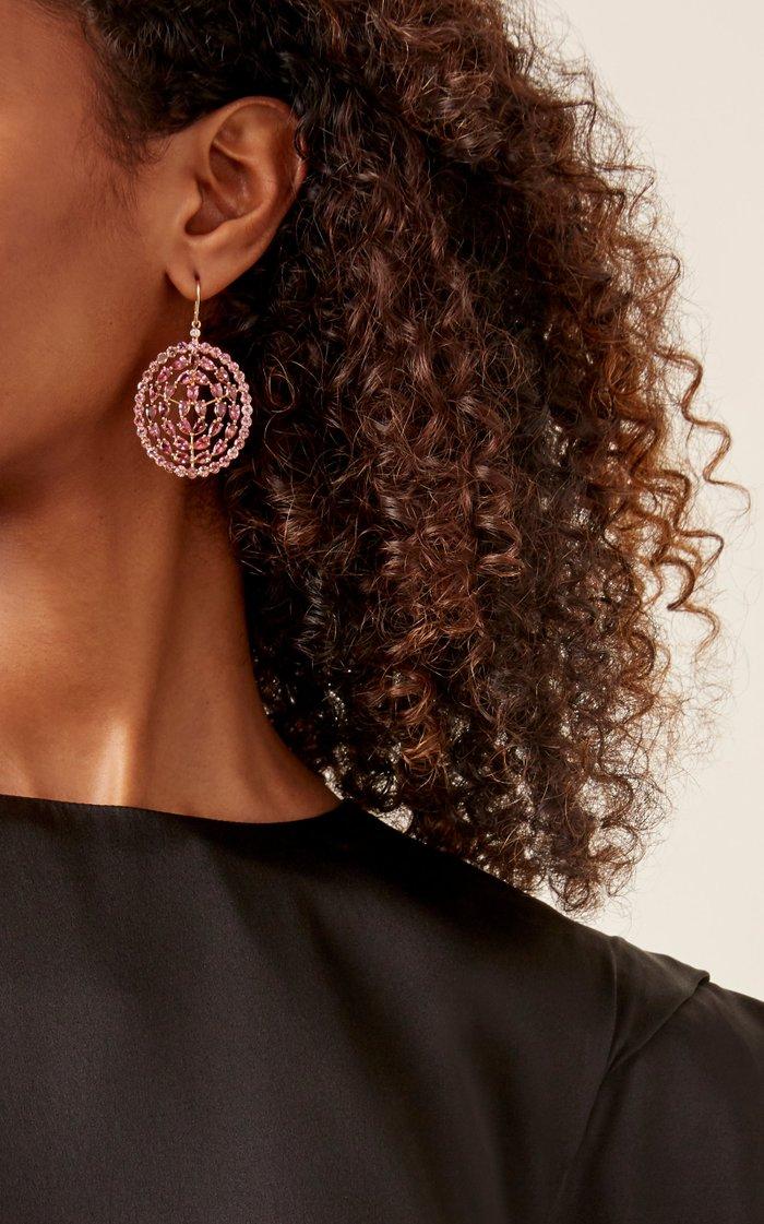 Plima Prime 18K Rose Gold And Tourmaline Earrings