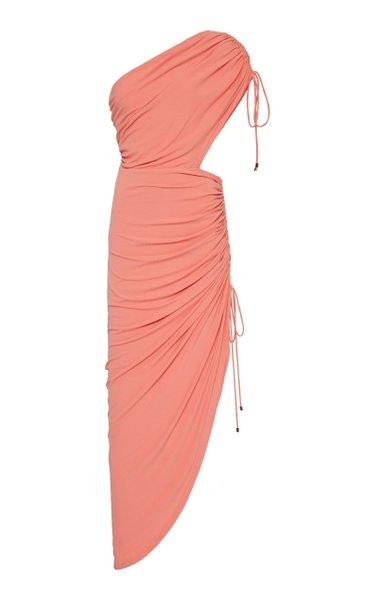 Sirene One Shoulder Knit Dress