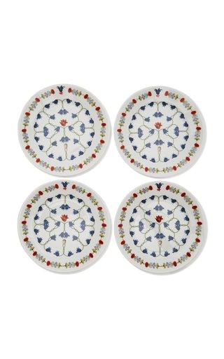 Récamier Set-Of-Four Porcelain B&B Plates