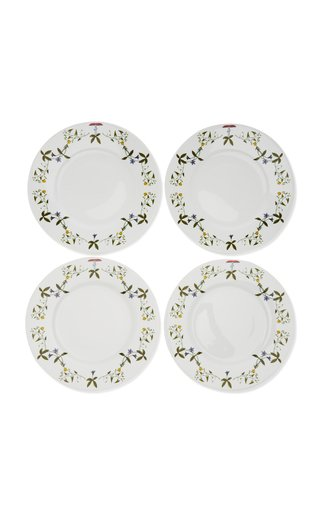 Récamier Set-Of-Four Porcelain Presentation Plates