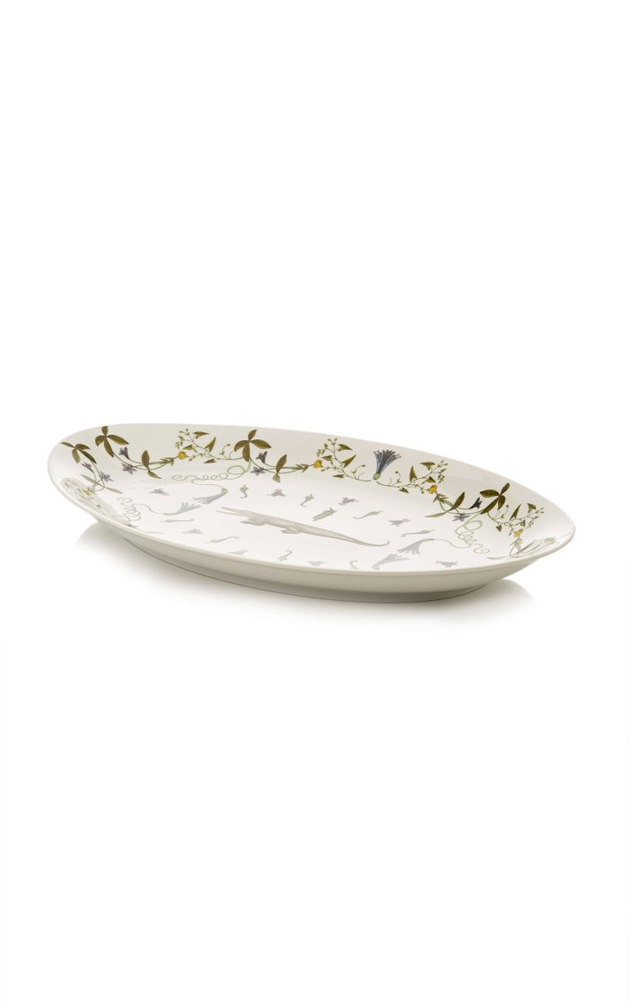 Récamier Oval Porcelain Platter