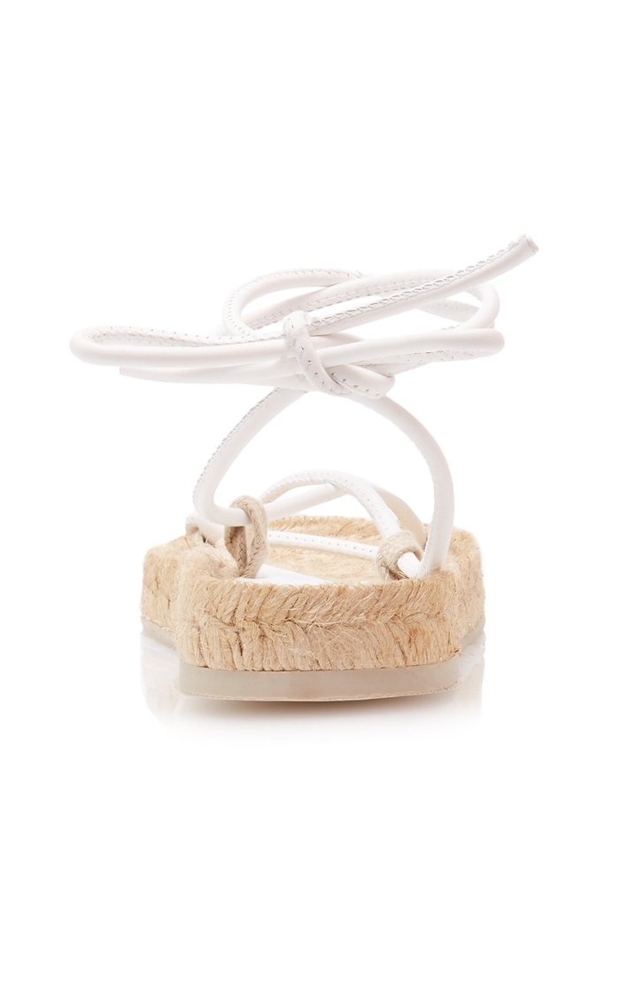 Atada Leather Espadrille Sandals