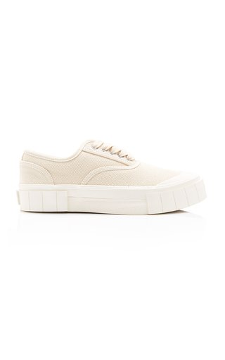Ace Canvas Platform Low-Top Sneakers