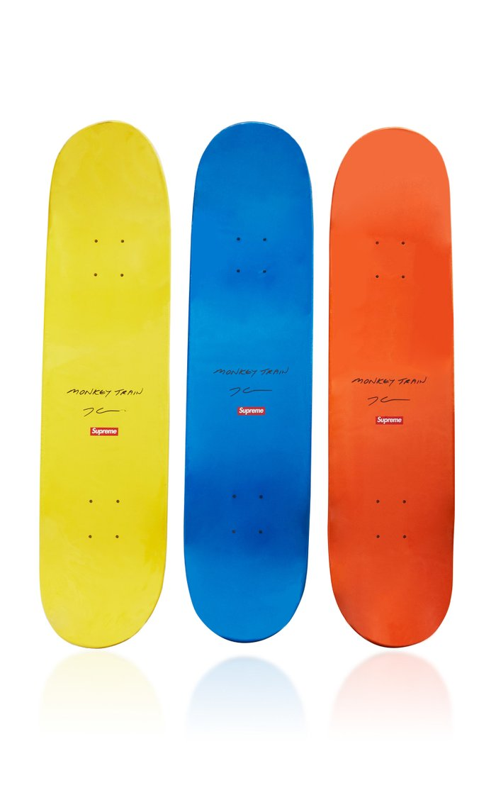 Jeff Koons x Supreme Set-of-Three Skateboard Decks