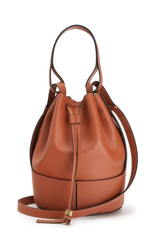 Large Nappa Leather Balloon Bag