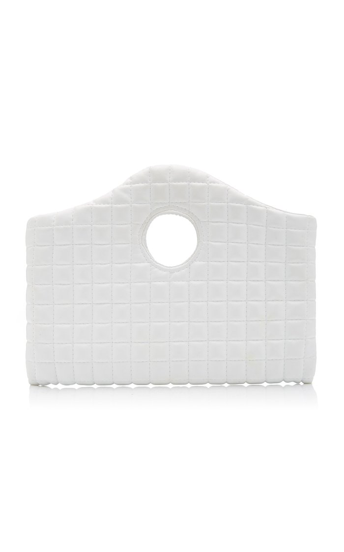 Anouk Mini Quilted Faux Leather Clutch